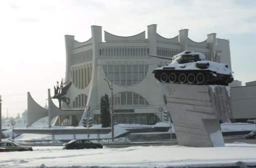 invierno en Grodno
