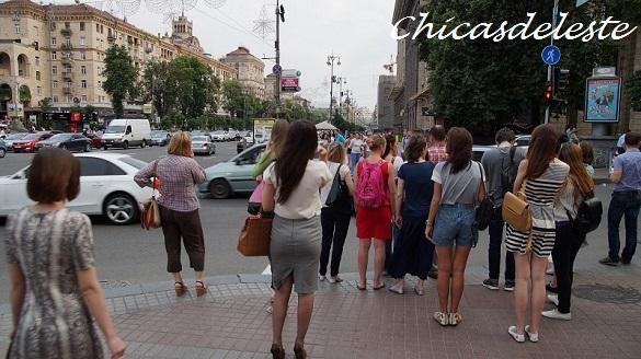 chicas en Kiev