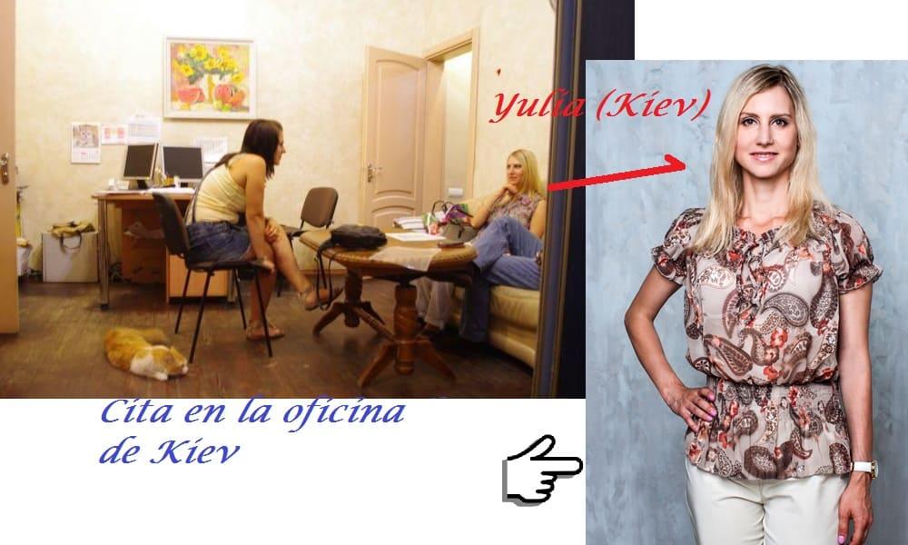 cita en oficina de Kiev