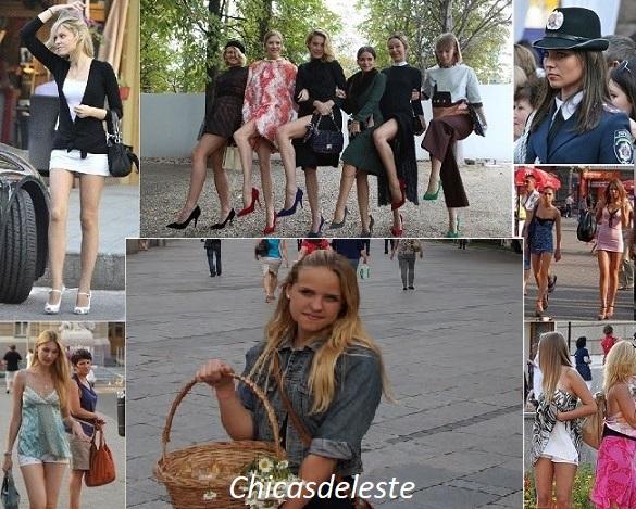 como son las chicas rusas