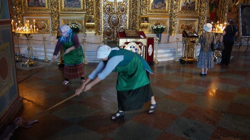 iglesia ortodoxa en Kiev