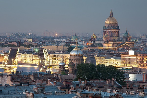 viajes a San Petersburgo, Rusia