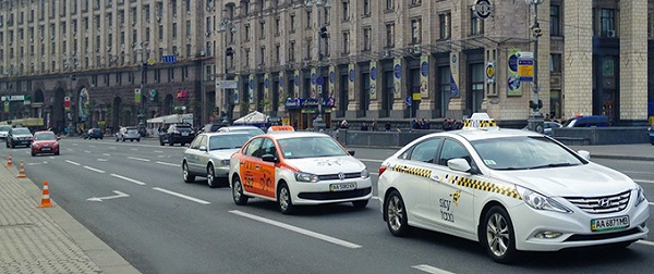 taxis en Kiev