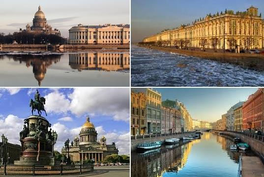 Viajes a San Petersburgo