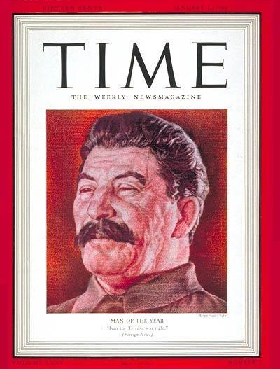 Portadas de la revista TIME sobre la URSS C11