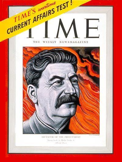 Portadas de la revista TIME sobre la URSS C15