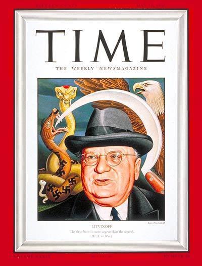 Portadas de la revista TIME sobre la URSS C17