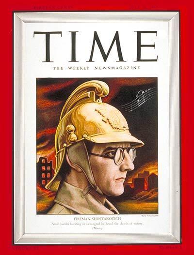 Portadas de la revista TIME sobre la URSS C18