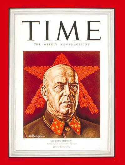 Portadas de la revista TIME sobre la URSS C20